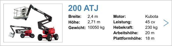 Vermietung Manitou 200 ATJ