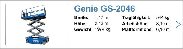 Vermietung Genie GS-2632